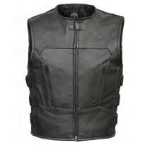 Leather-Motorcycle-Biker-Bulletproof-Vest