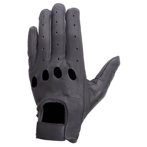 Unisex-Drum-Dyed-Cowhide-Leather-Driving-Cycling-Dress-Summer-Gloves