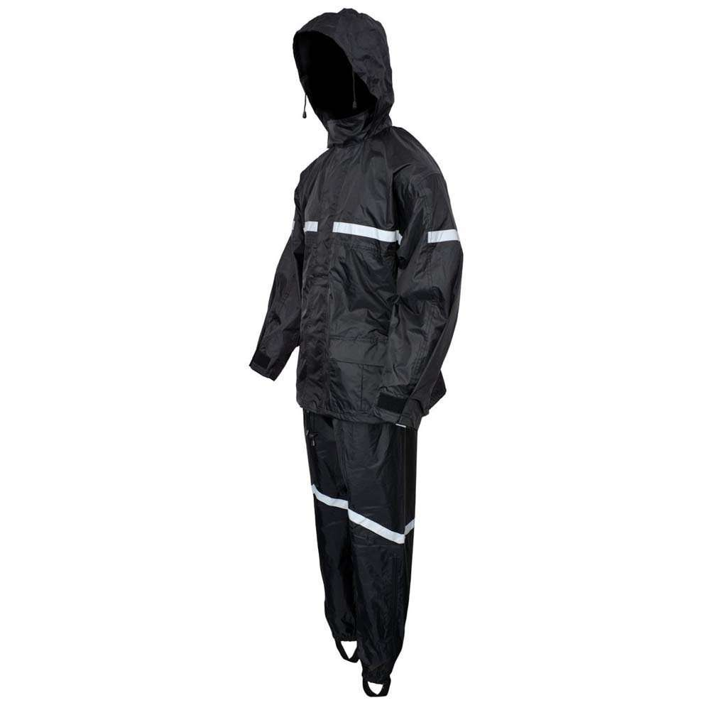 Motorcycle-Biker-Two-Piece-Rain-Suit-High-Visibility