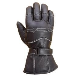 Premium-Leather-Winter-Biker-Riding-Gloves