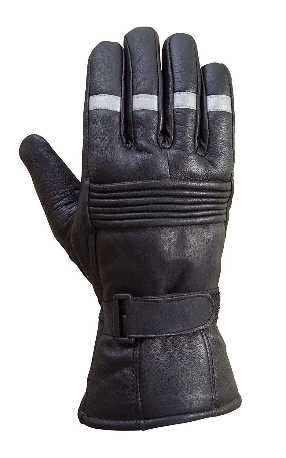 Biker-Reflective-Leather-Gloves-G6