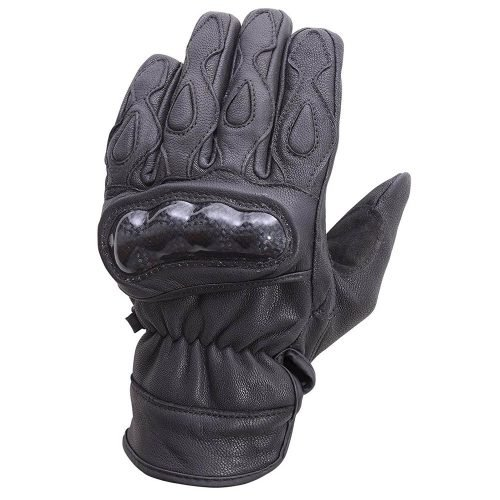 Motorcycle-Carbon-Fiber-Knuckle-Leather-Riding-Gloves