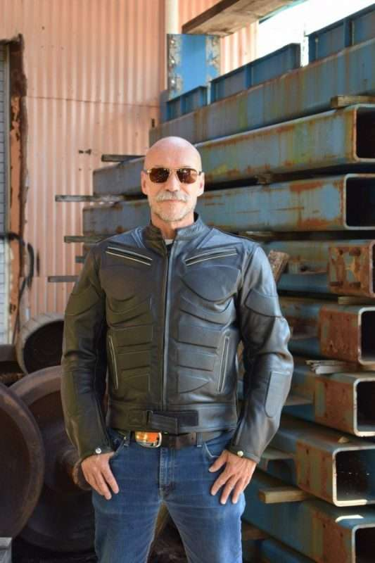 Mens-Ace-Motorcycle-Armor-Leather-Jacket