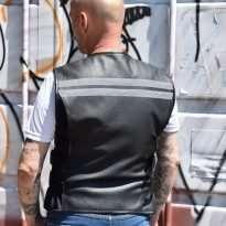 Biker-Leather-Hi-Viz-Vest