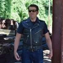 Biker-Leather-Vest