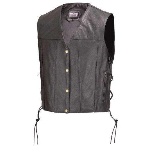 Biker-Leather-Vest-Concealed-Carry-Gun-Pocket
