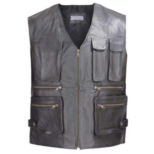 men-leather-motorcycle-biker-tactical-vest