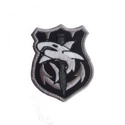 TAC-SHARK-TACTICAL-Emroidered-Iron-On-US-MILITARY-PATCH-P28