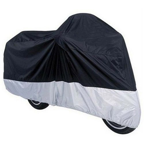 All-Season-Black-Waterproof-Motorcycle-Cover