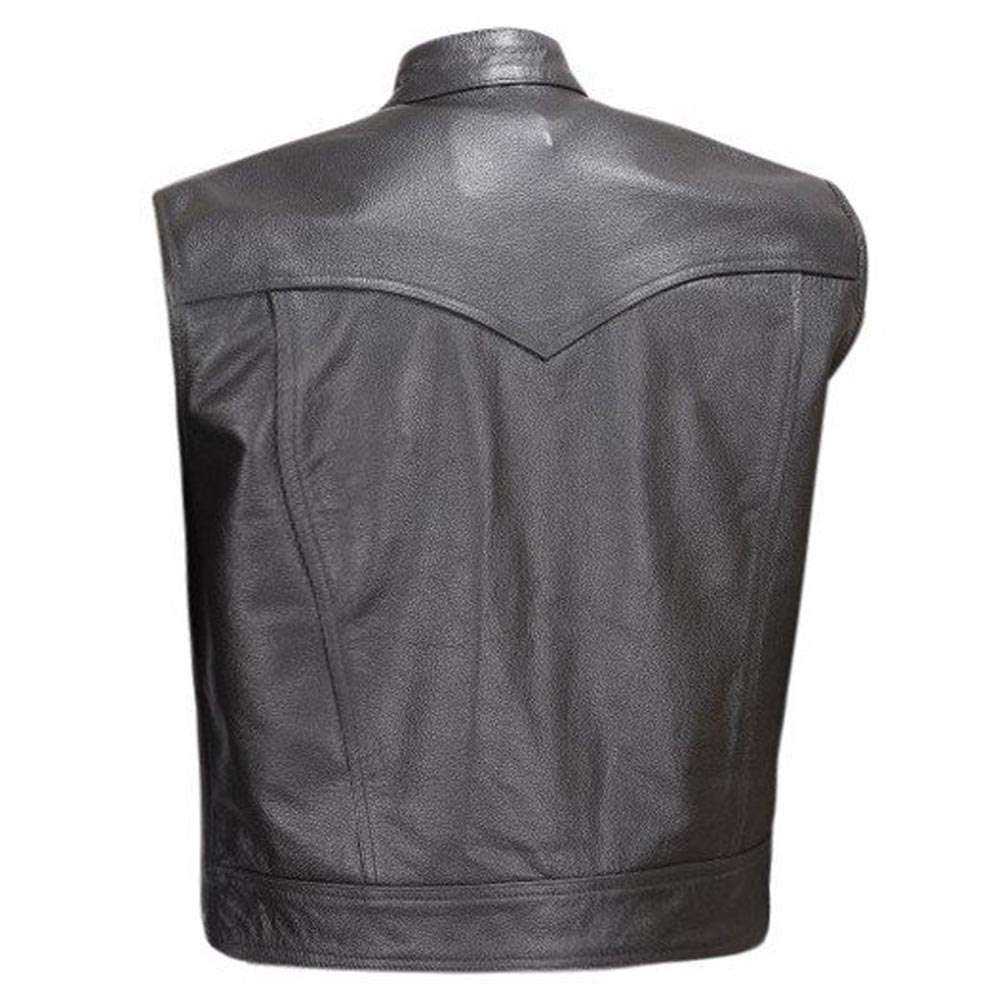 Leather-Motorcycle-Vest