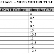 mens-motorcycle-boots-size-chart