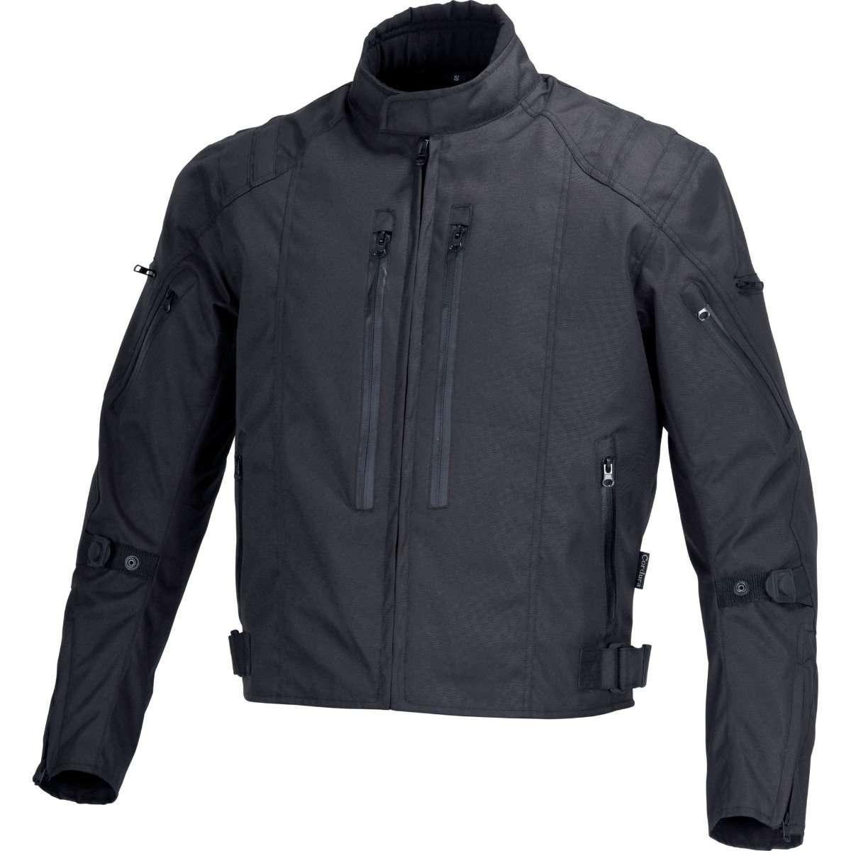 Casanova-Men-Motorcycle-Textile-Race-Jacket-black