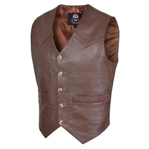 leather-motorcycle-vests