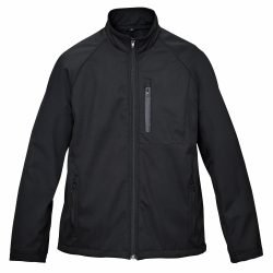 Mens-Windproof-Water-Repellent-Softshell-Zip-Front-Fleece-Lined-Jacket