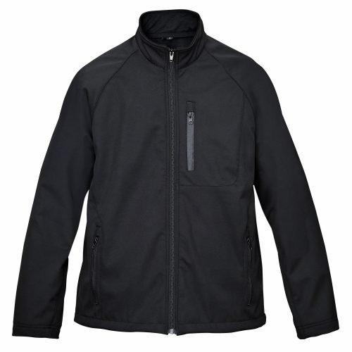 Mens-Windproof-Water-Repellent-Softshell-Zip-Front-Fleece-Lined-Jacket
