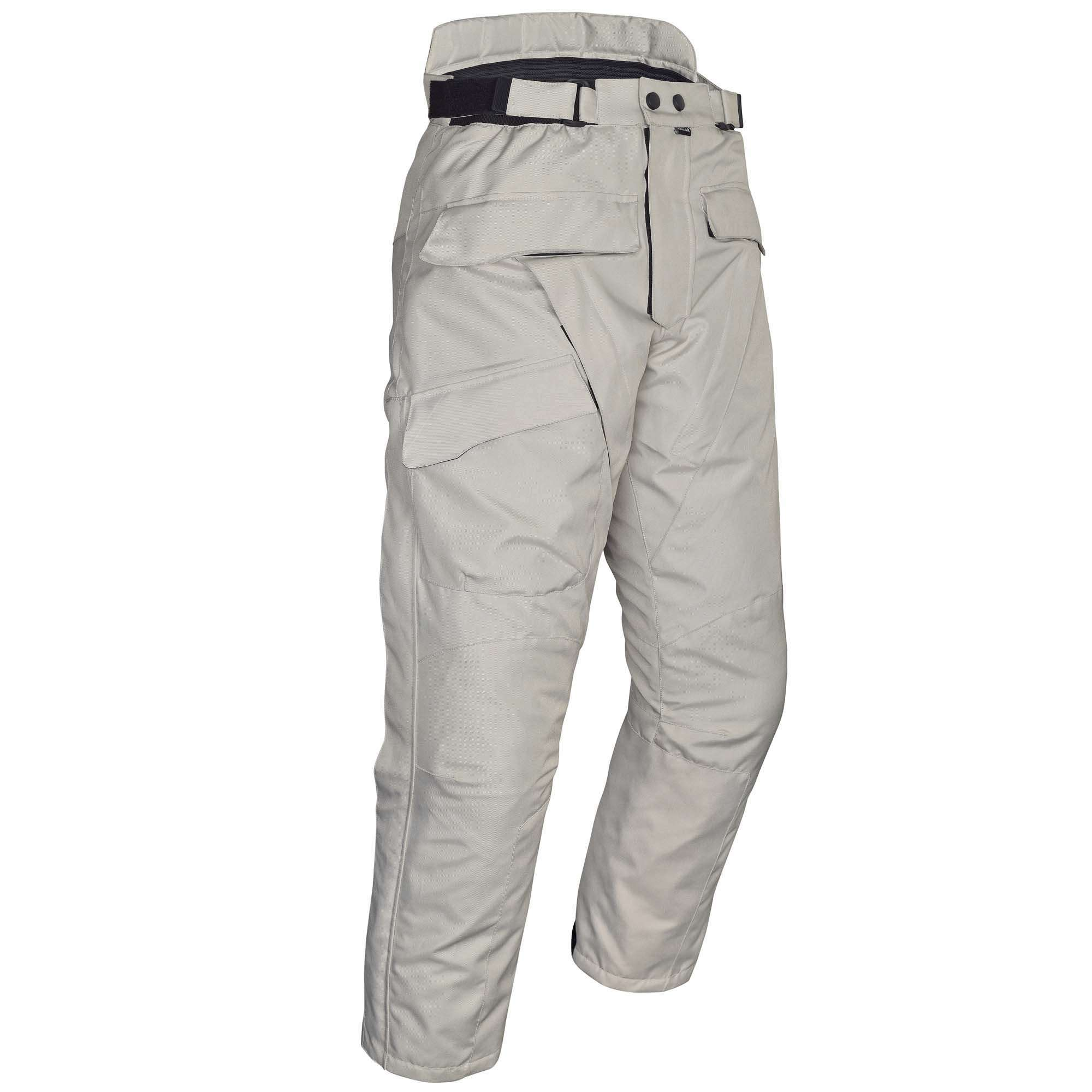 Mens-Motorcycle-Waterproof-Over-Pants-Gray