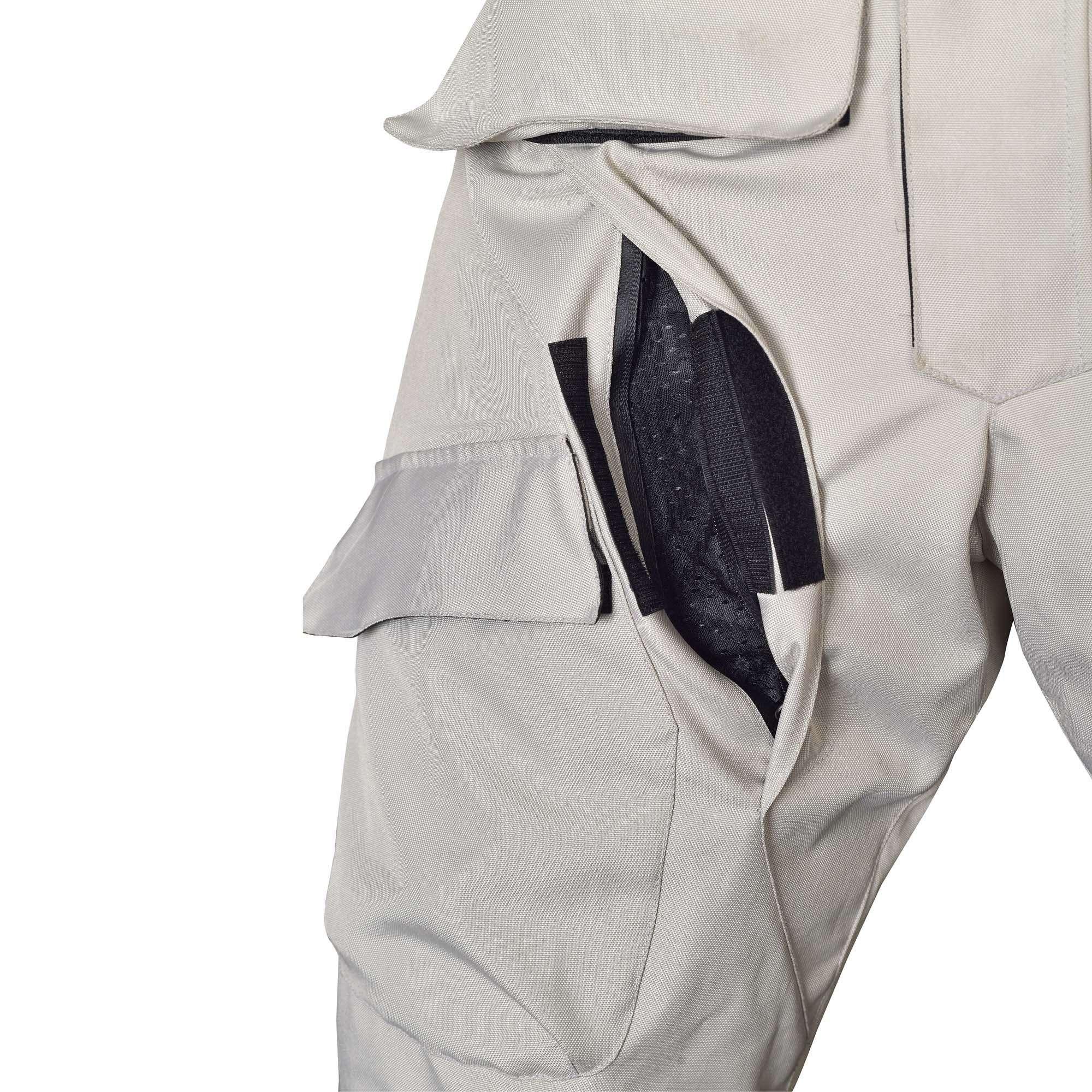 Mens-Motorcycle-Waterproof-Over-Pants-Gray