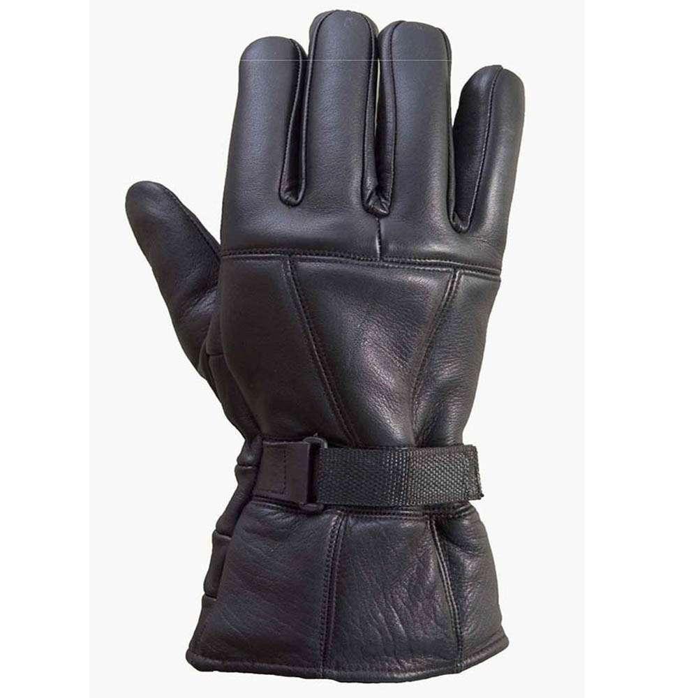Leather Motorcycle Biker Riding/Cruising Winter Gloves