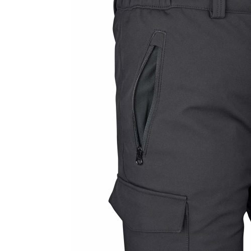Mens-Water-Repellent-Softshell-Fleece-Lined-Cargo-Pants