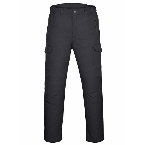 Men's-Water-Repellent-Softshell-Fleece-Lined-Cargo-Pants-Outdoor-WindProof