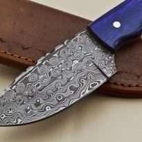 Hunting-Knife-Wood-Handle