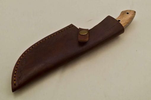 Hunting-Knife-Wood-Camel-Bone-Handle