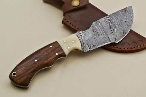 Hunting-Knife-Wood-Camel-Bone-Handle