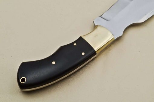 Hunting-Knife-Brass-Micarta-Handle