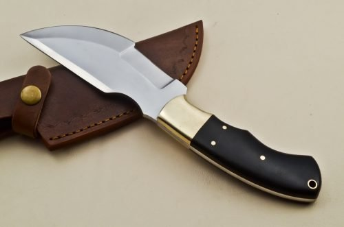 Hunting-Knife-Brass-Micarta-Handle