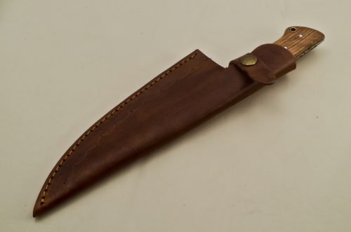 Steel-Clip-Point-Chef-Knife