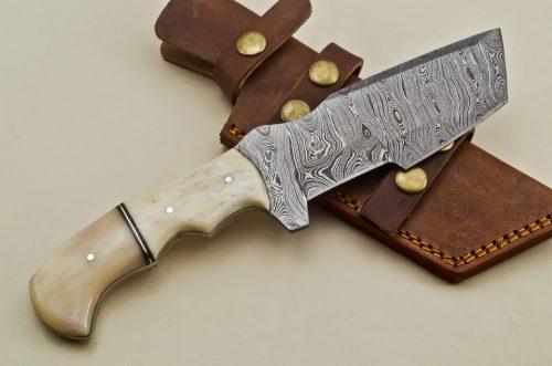 Hunting-Knife-Camel-Bone-Handle