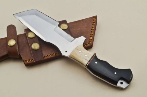 Hunting-Knife-Camel-Bone-Micarta-Handle
