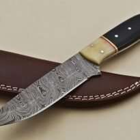 Steel-Straight-Back-Hunting-Knife