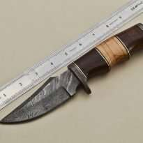 Hunting-Knife-Wood-Handle