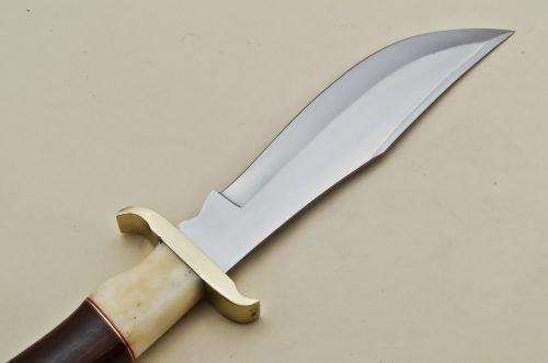 Hunting-Knife-Camel-Bone-Wood-Handle