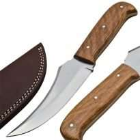 Hunting/Skinner-Knife-Wood-Handle