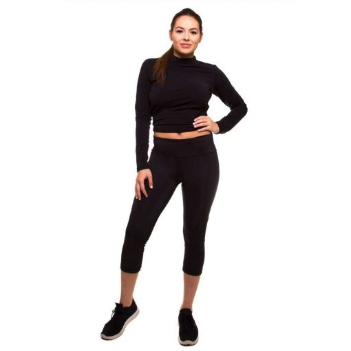 womens-capri-pants-with-mesh