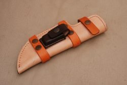 Left-Hand-Tracker-Knife-Leather-Sheath-Light-Brown