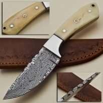 Hunting-Knife-Bone-Handle