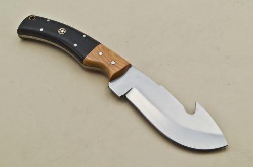 Hunting-Knife-Micarta-Wood-Handle
