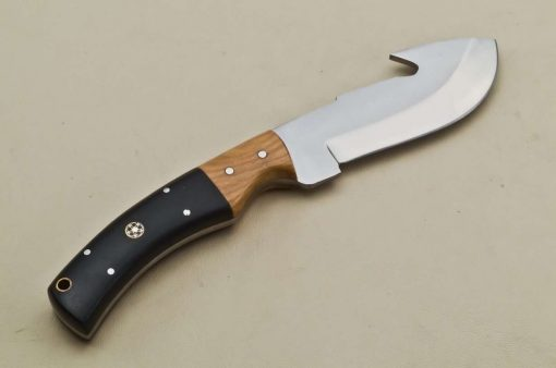 Hunting-Knife-Micarta-Wood-Handle