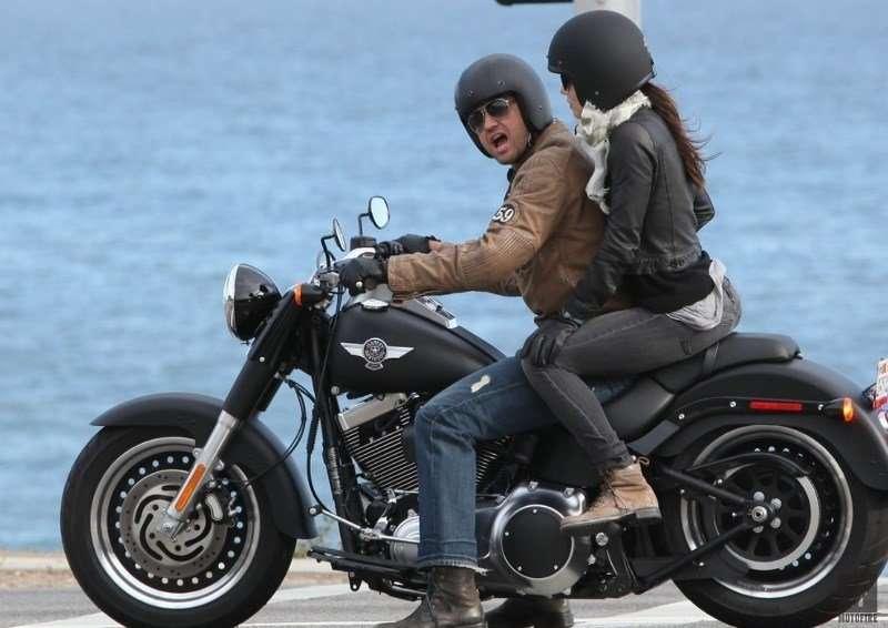 Celebrity-Motorcyclist