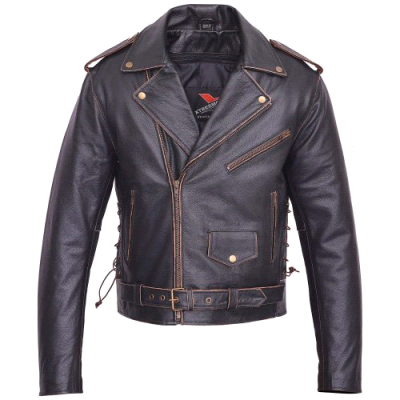 Men-Motorcycle-Leather-Jacket-American-Eagle