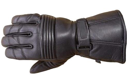 Premium-Leather-Long-Gauntlet-Biker-Winter