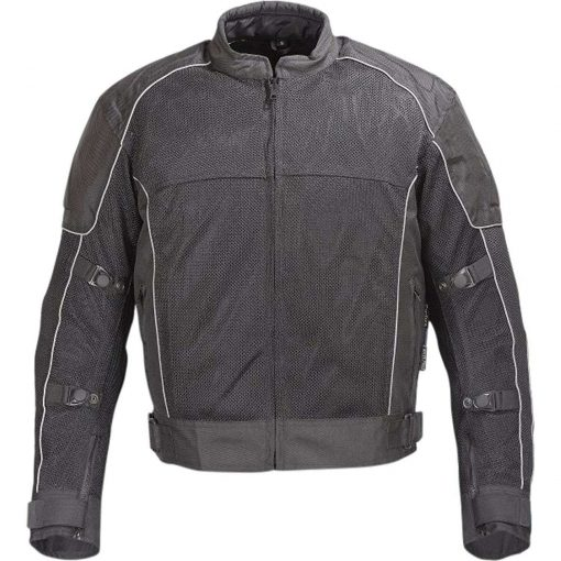 Mens-Waterproof-Motorcycle-Mesh-Jacket-with-CE-Protection-Black
