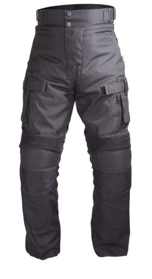 Men-Motorcycle-OverPants-Black-with-Removable-CE-Armor