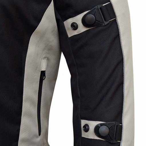 Rochester Mens Motorcycle Jacket from WICKED STOCK Waterproof with Thermal Liner