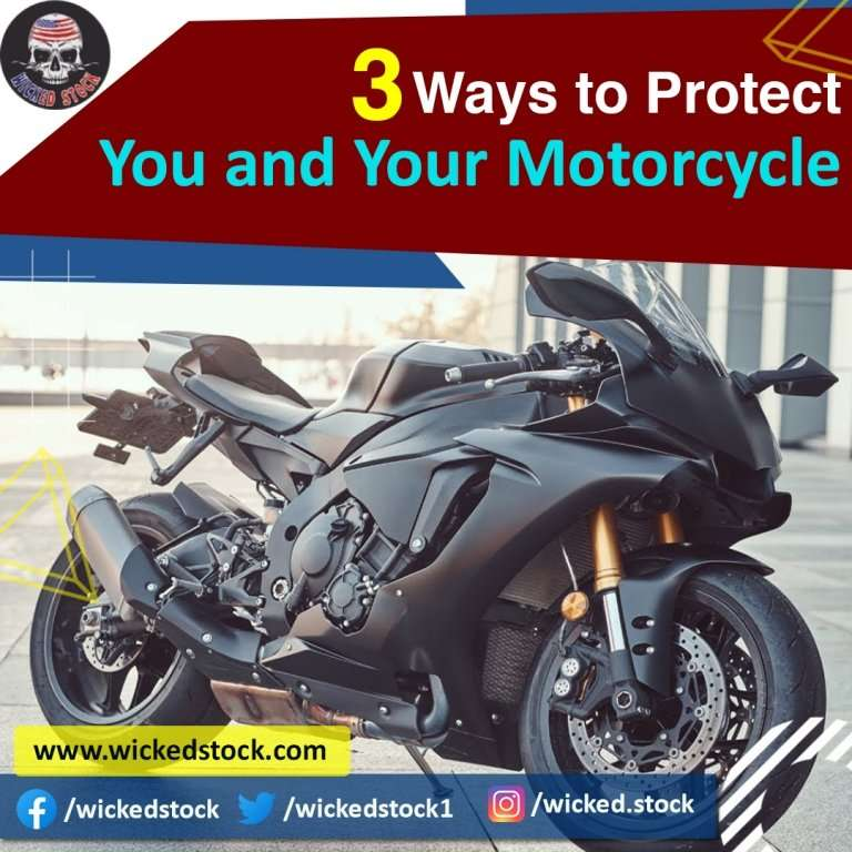 3 Ways to Protect You and Your Motorcycle