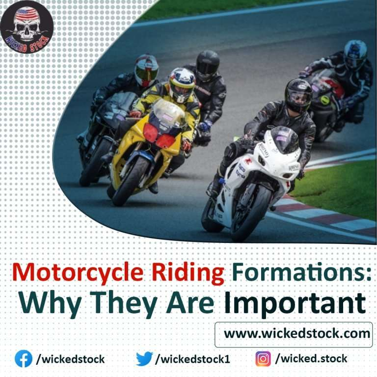Motorcycle Riding Formations