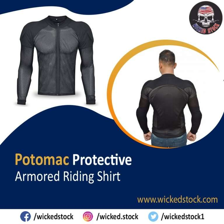 Potomac Protective Armored Riding Shirt